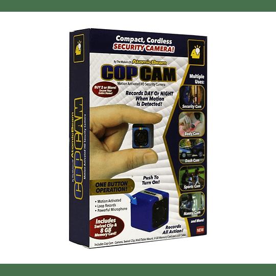 Mini Cámara Espía FHD 1080p Sensor Movimiento