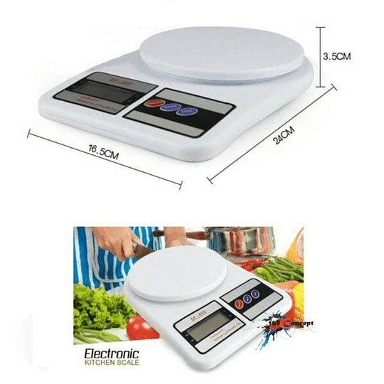 Pesa Balanza Gramera Digital Cocina 7kg
