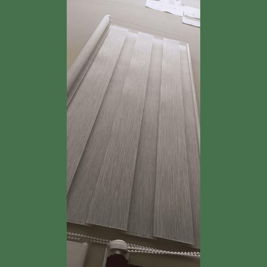 Cortina Roller Dúo Jaspeado 180cm X 240cm