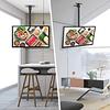 Soporte Tv Inclinable Para Techo 26 55