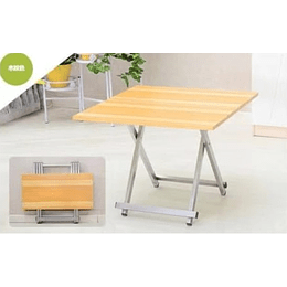 Mesa plegable escritorio 60x60