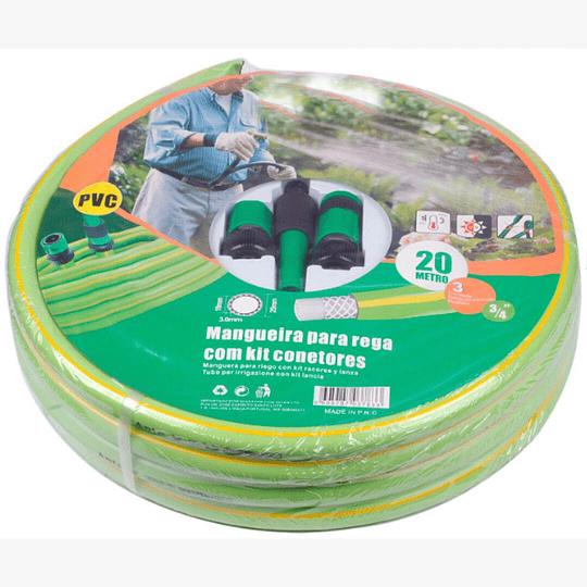 Kit de riego manguera 30m