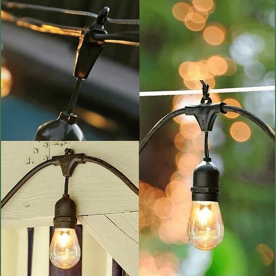 Guirnalda de luces led exterior 5 metros