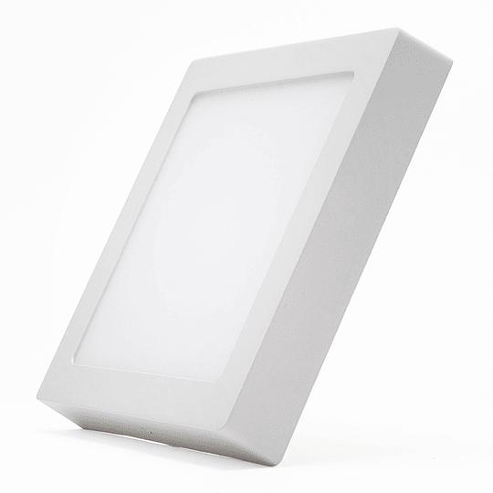 Panel LED Sobrepuesto  12w cuadrado
