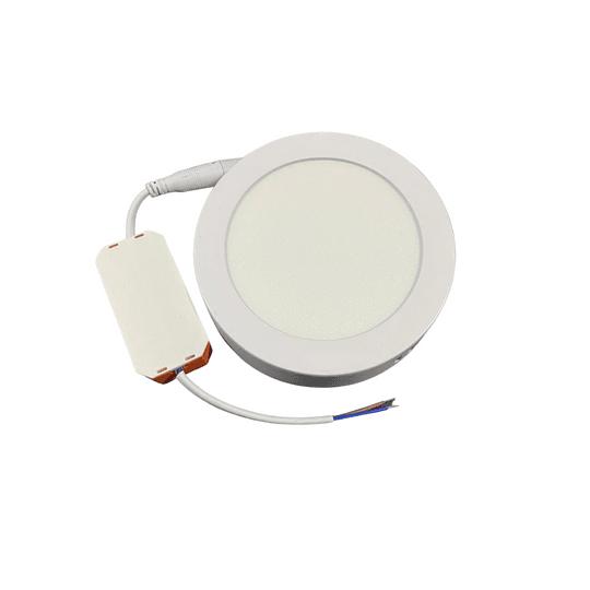 Panel LED Sobrepuesto 6w circular