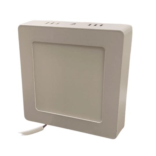 Panel LED Sobrepuesto 6w cuadrado