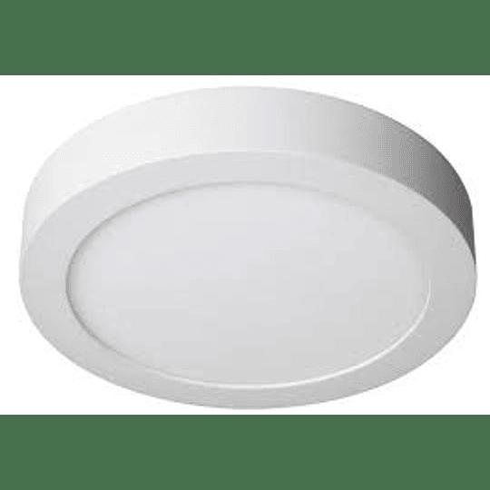 Panel LED Sobrepuesto 18w circular