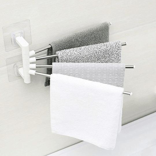 Toallero de baño de pared giratorio