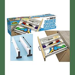 Separadores de cubiertos juego de 2 encaje a presión