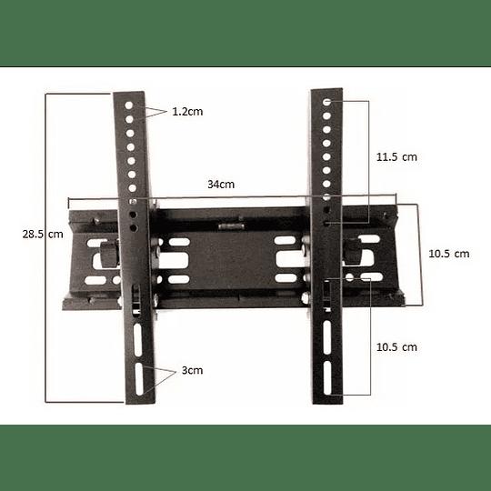 Soporte de pared para TV  Soporte inclinable para pantalla plana 14″ - 42″