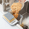 Rejilla De Drenaje Con Ventosa Filtro Fregadero De Cocina Soporte Plegable Para Jabón