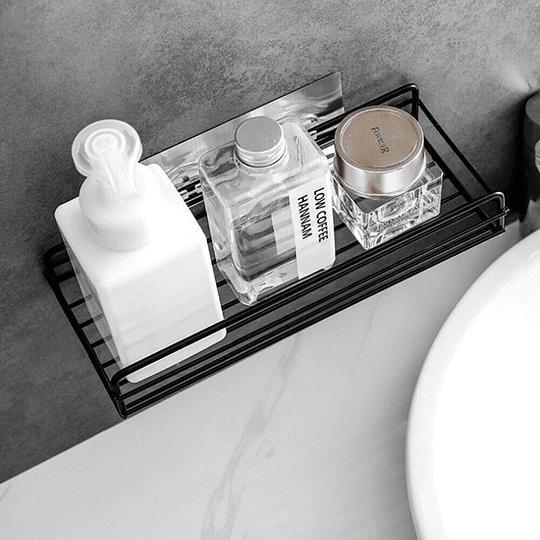 Estante De Almacenamientode Baño Colgador De Pared