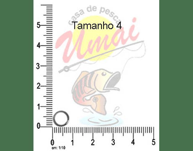 Argola para isca artificial - Ten Mouth Hyper Ring