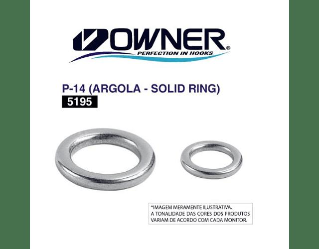Argola Solid Ring  - Owner