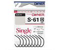 Anzol Owner Stinger Single - S-61