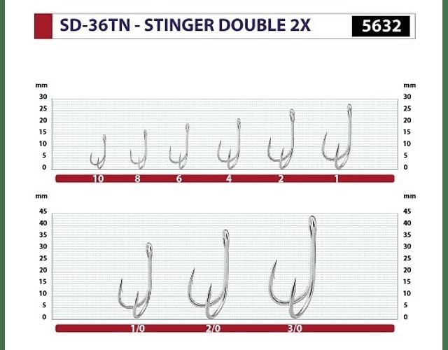 Garatéia Owner SD-36TNX - Stinger Double