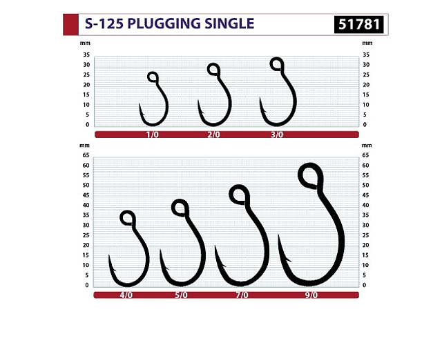 Anzol Owner - Plugging Single Hook S-125