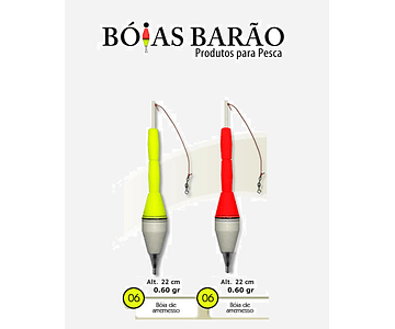 Boia de Arremesso Barão - N°06