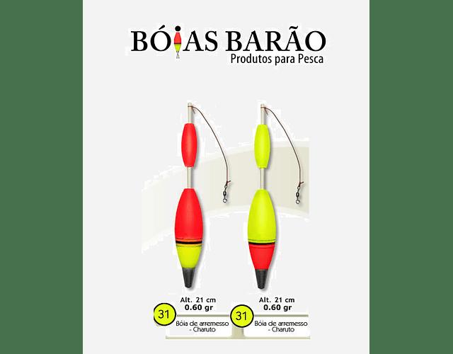 Boia de Arremesso Barão Charuto - N°31