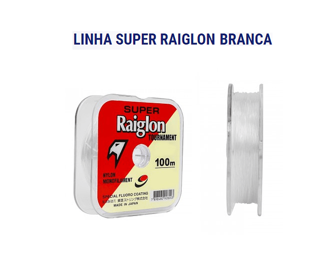 Linha Marine Sports Super Raiglon Tournament - Branca