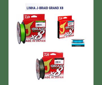 Linha de Multifilamento Daiwa J-Braid Grand X8