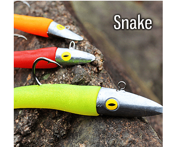 Isca Artificial Black Pearl - Snake 11cm
