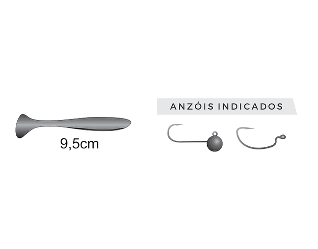 Isca Artificial Monster 3x Soft - Paddle X