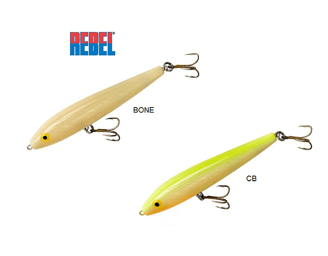 Isca Artificial Rebel - Jumpin Minnow T10