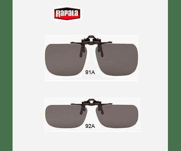 Óculos Polarizado Rapala - Clip On Visiongear