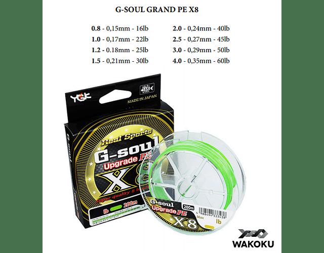 Linha de Multifilamento GSoul - Upgrade PE X8