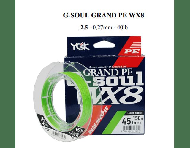 Linha de Multifilamento GSoul - WX8 - 150m