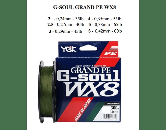 Linha de Multifilamento GSoul - WX8 - 300m