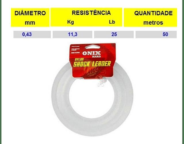 Linha Fastline Onix Hard - Shock Leader