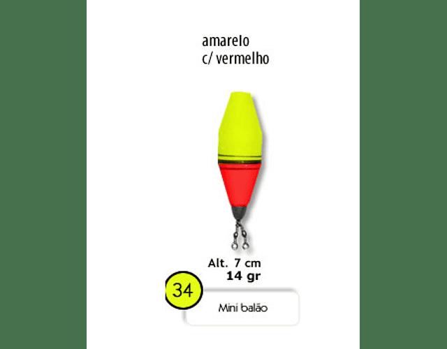 Bóia de Arremesso Barão - Mini Balão N°34