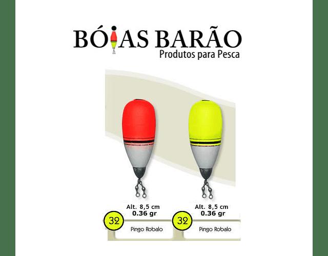Bóia de Arremesso Barão - Pingo Robalo N°32