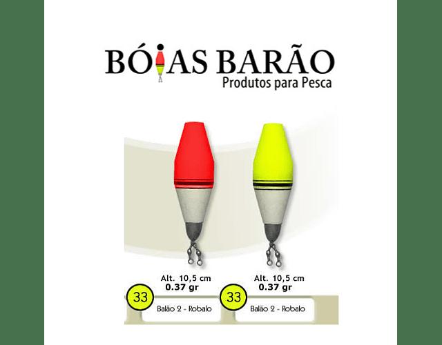 Bóia de Arremesso Barão - Balão Robalo N°33