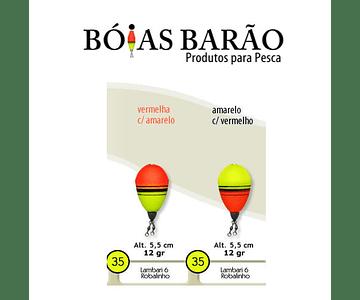 Bóia de Arremesso Barão - Robalinho N°35