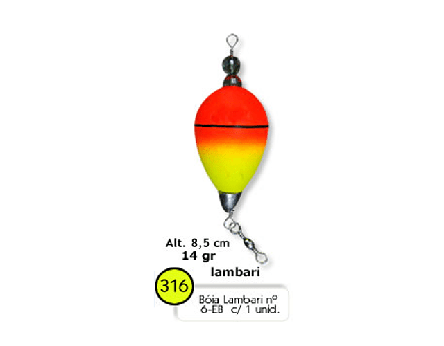 Bóia de Arremesso Barão - Lambari