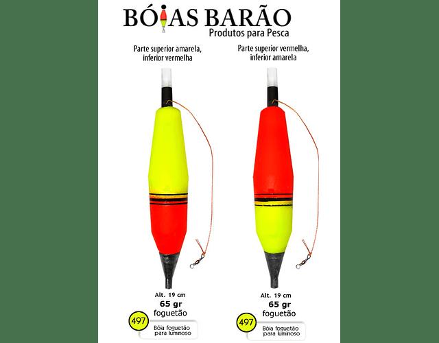 Bóia de Arremesso Barão - Luz Química n°497