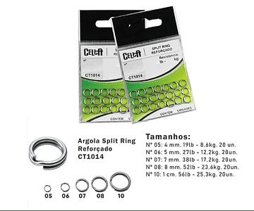 Argola Split Ring Reforçado - Celta