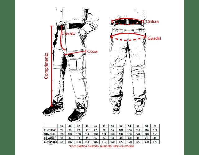 Calça Bermuda MTK - Amazon Jeans