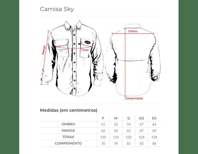 Camisa MTK - Sky Royal