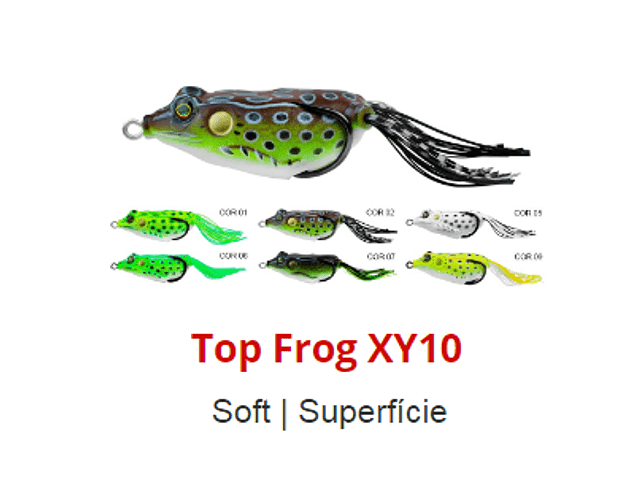 Isca Artificial Albatroz - Top Frog XY-10