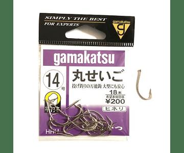 Anzol Gamakatsu - Maruseigo Sem Olhal