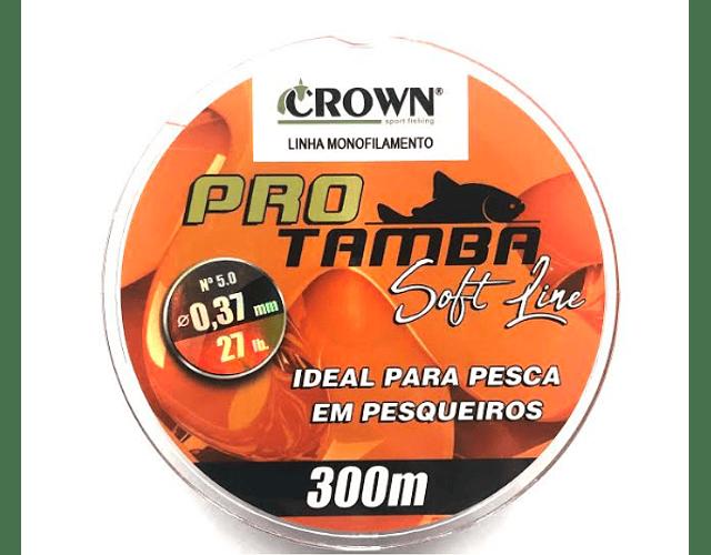 Linha de Monofilamento Crown - Pro Tamba Soft