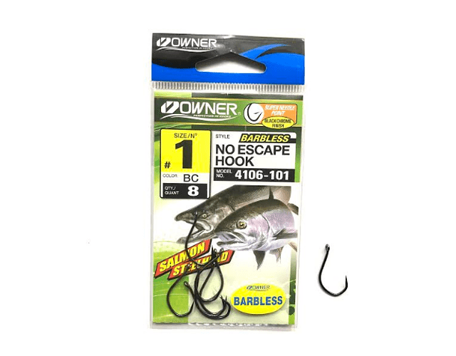 Anzol Owner Barbless - No Escape Hook