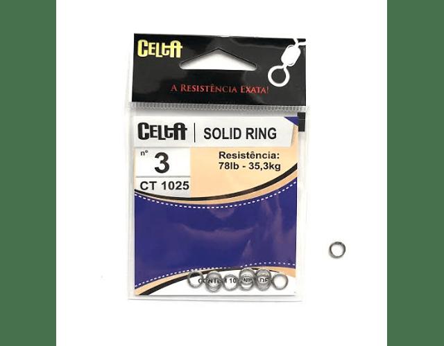 Argola Solid Ring Simples - Celta