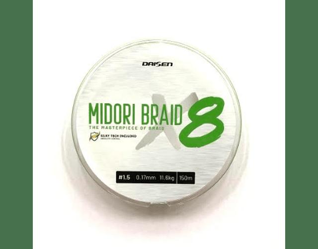 Linha de Multifilamento Daisen - Midori Braid 8x