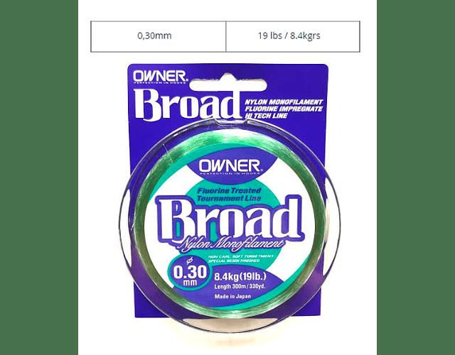 Linha Owner - Broad  300m