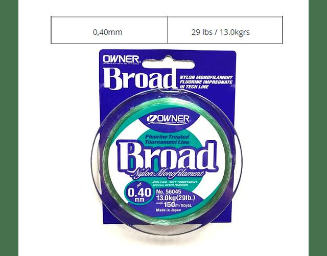 Linha Owner - Broad  150m